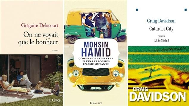 Les couvertures des livres présentés au club de lecture du 15 septembre 2014.