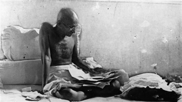 Gandhi en 1933