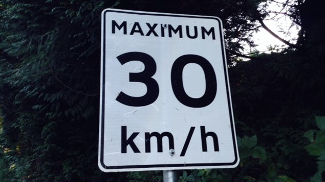 Un panneau qu'on pourrait bientôt voir plus souvent à Montréal