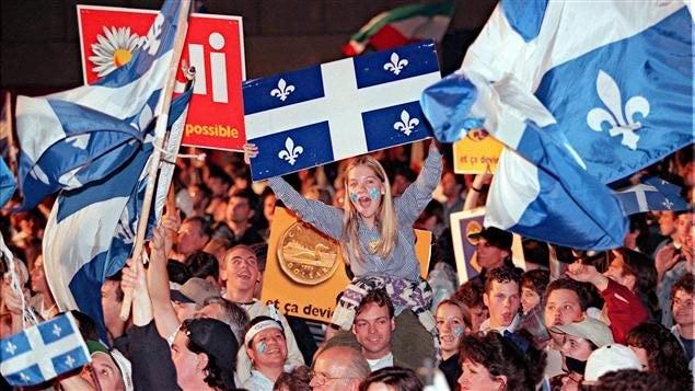 Le référendum de 1995