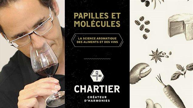 Papilles et molécules par François Chartier, créateur d'harmonies