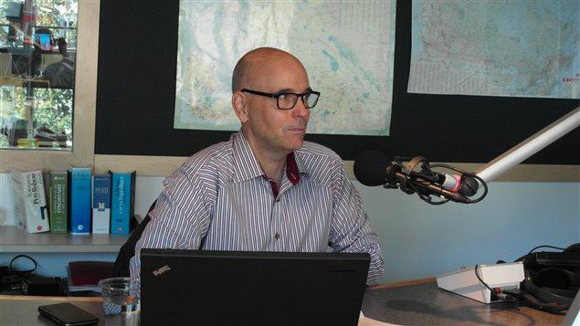 Le directeur général de la FFCB, Robert Rothon