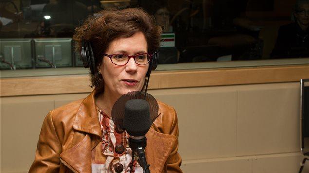 L'animatrice de Médium large, Catherine Perrin.