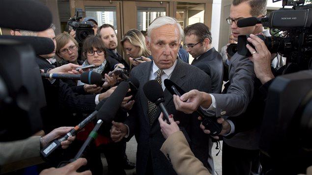 Donald Bayne, l'avocat du sénateur suspendu Mike Duffy