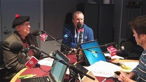 Edward Gunn et Bill McNeil en entrevue à l'émission Première heure avec Claude Bernatchez.