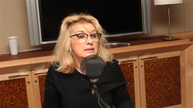 Ludmilla Proujanskaia, traductrice et propriétaire de l'agence Prétexte.