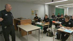 Les jeunes policiers touchés par les compressions à la Sûreté du Québec