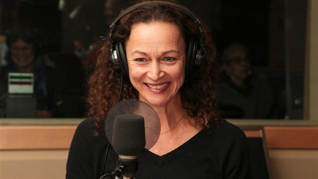 La comédienne Sylvie Drapeau