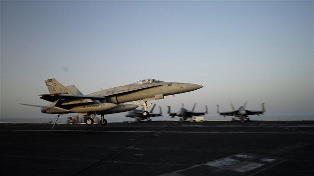 Premiers raids américains contre l'État islamique en Syrie