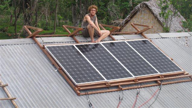 Un projet de développement durable au Vanuatu pour Marc-Antoine Meilleur