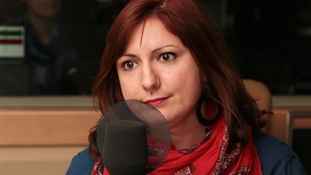 L'auteure Stéphanie Pelletier