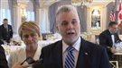 Un Québec stable et ouvert aux investisseurs, vante Couillard