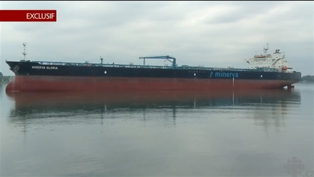 Supertankers in the St Lawrence