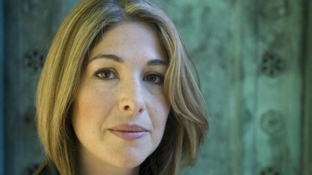 L'auteure et journaliste canadienne Naomi Klein