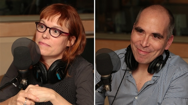 Martine Delvaux, professeure au Département d'études littéraires de l'UQAM, et Jocelyn Maclure, professeur de philosophie à l'Université Laval.
