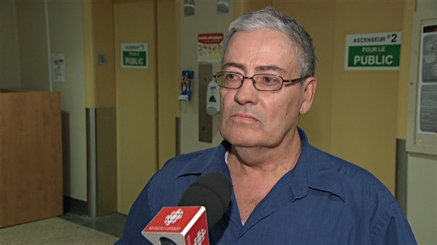 Le président de l'organisme Action Santé Outaouais, Gaétan Ouellet (2014-09-24)