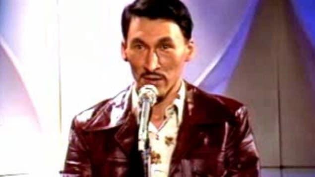 John Amagoalik en 1976 - Archives de la CBC