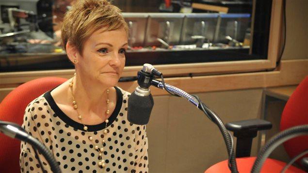Jocelyne Cyr, candidate à présidence de la CSDM