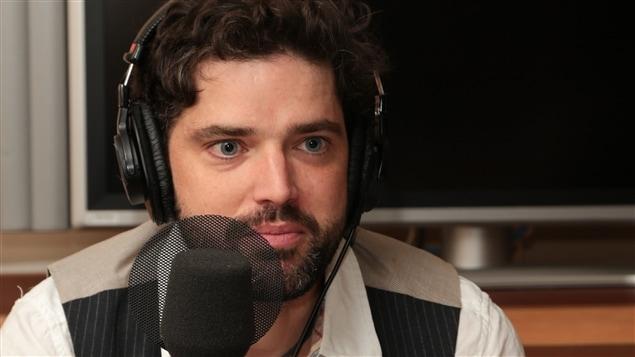 Marc-André Moutquin, lauréat du Prix Radio-Canada de poésie 2014