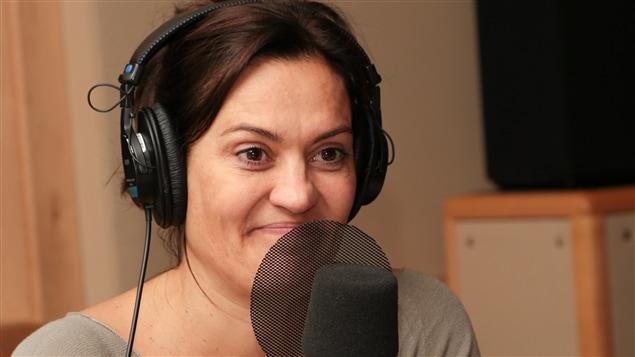 La comédienne, metteure en scène et réalisatrice Brigitte Poupart