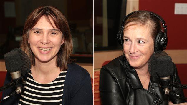 Annie Desrochers et Suzanne Lortie