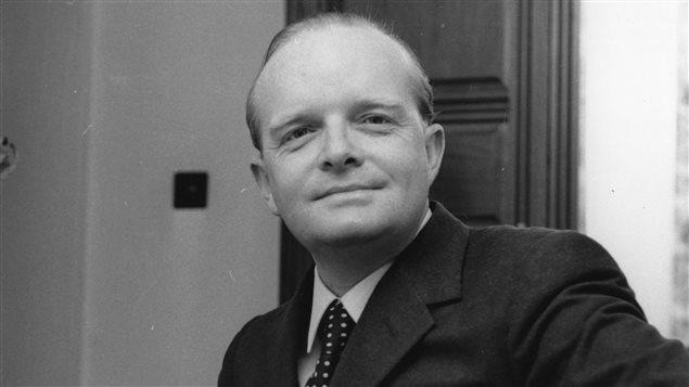 L'auteur Truman Capote en 1966