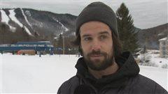 Jean-Philippe Auclair lors d'une entrevue à Lac-Beauport.