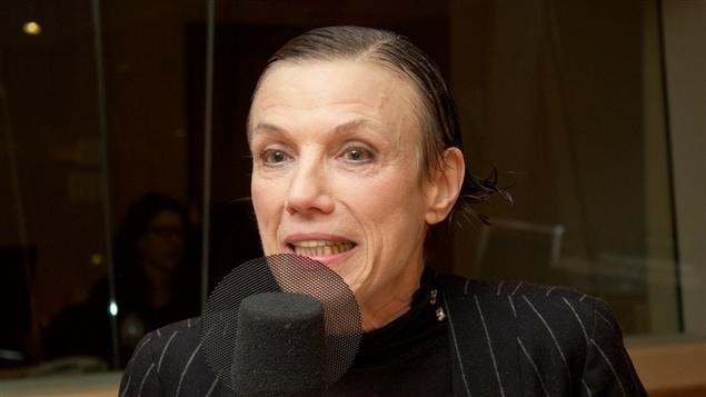 L'actrice, auteure et metteure en scène Pol Pelletier