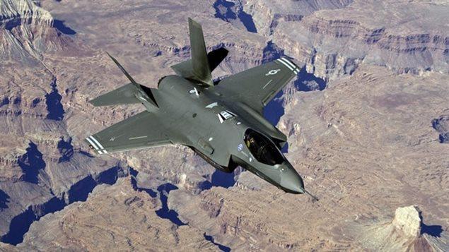 Version test du F-35 américain.