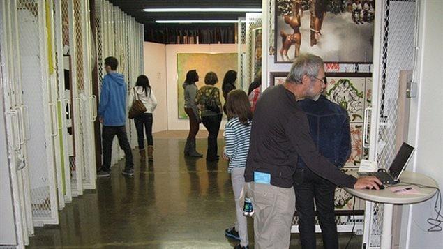 La Banque d'œuvres d'art du Conseil des arts du Canada possède la plus grosse collection d'art contemporain au pays