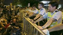 Hong Kong :le gouvernement somme les manifestants de se disperser