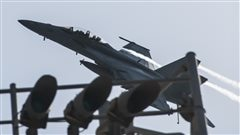 Les frappes aériennes en Syrie