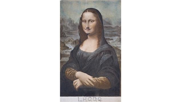 <i>L.H.O.O.Q.</i> (1919), une œuvre de Marcel Duchamp