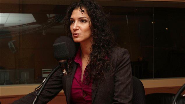 La journaliste Nadia Fezzani