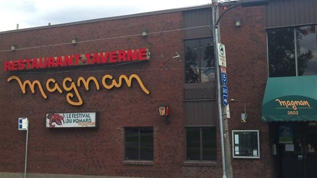 La taverne Magnan fermera ses portes