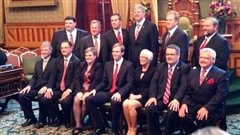 Le Conseil des ministres de Brian Gallant