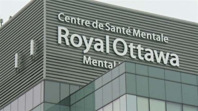 Le Centre de santé mentale Royal Ottawa (archives)