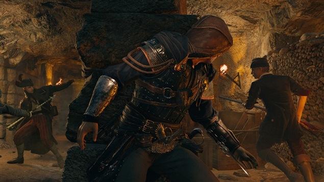 Une image tirée du jeu <i>Assassin's Creed Unity</i>