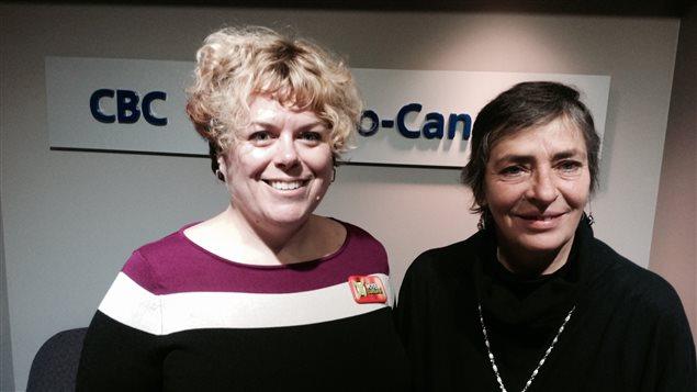 Genevieve Pineault et Paulette Gagnon