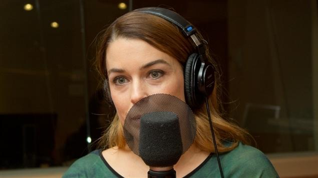 La journaliste scientifique et animatrice Marie-Pier Elie