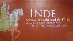 Patricia a vu l'exposition « Inde miniatures du sud de l'Asie » du San Diego Museumof Art présenté jusqu'au 18 janvier 2015.