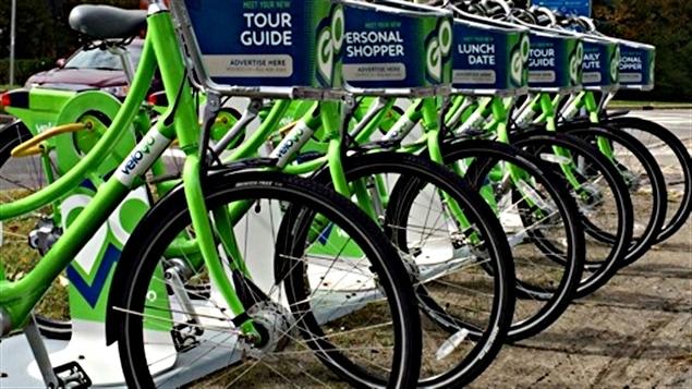Voici les nouveaux vélos qui seront en libre-service à Ottawa et à Gatineau. (10-10-14)