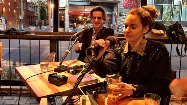 Léane Labrèche-Dor et Alain Lefèvre