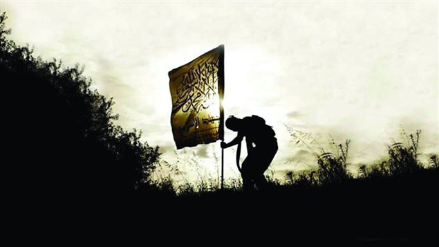 Image tirée de la page couverture du livre <em>Ils cherchent le paradis et ils ont trouvé l'enfer</em>, de Dounia Bouzar