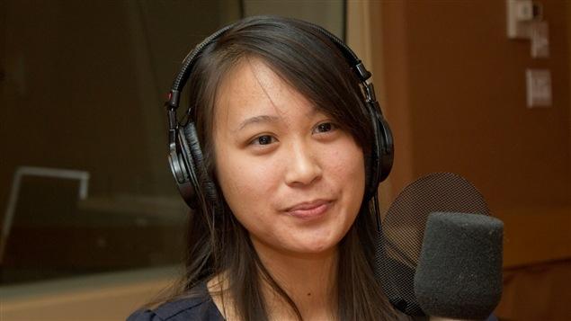 L'étudiante en médecine, blogueuse et rédactrice en chef du magazine <i>Première ligne</i>, Nina Nguyen
