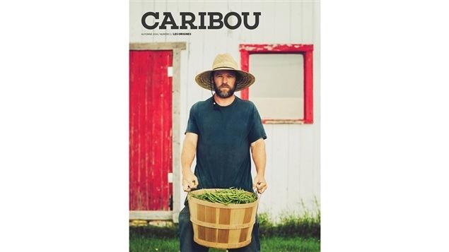 La couverture du premier numéro du magazine <i>Caribou</i>