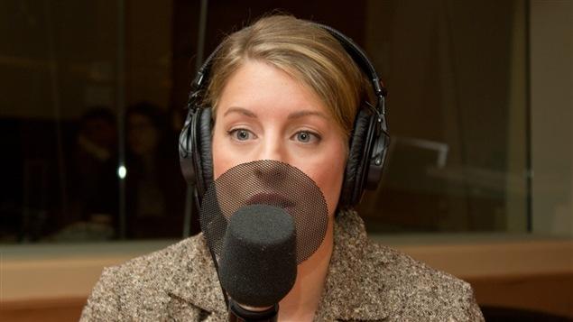 L'ancienne chef du parti Vrai changement pour Montréal, Mélanie Joly
