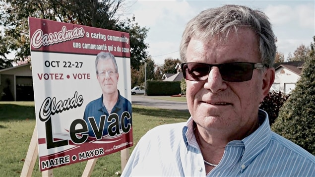 Le maire sortant de Casselman, Claude Levac, n'a pas été réélu.
