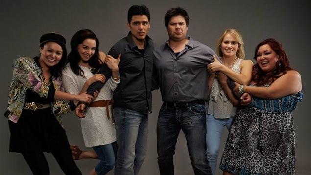 Les personnages de la nouvelle série télévisée <i>Mohawk girls</i>