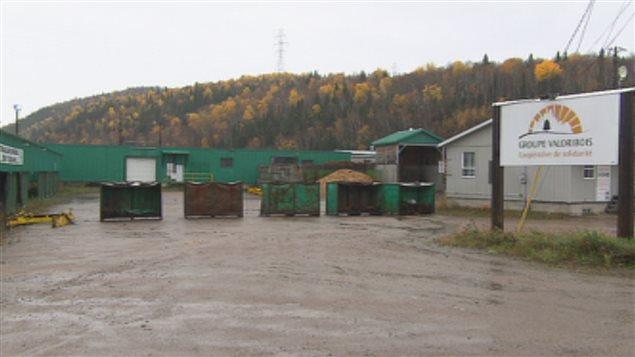 La production est arrêtée depuis le printemps 2014 à la scierie de Petit-Saguenay